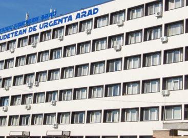 Spitalul județean din Arad a efectuat în premieră o tromboliză intravenoasă, salvând viața unui pacient cu accident vascular cerebral