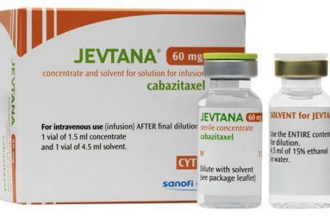 Substanța cabazitaxelum pentru cancer de prostată a fost introdusă pe lista medicamentelor decontate de CNAS de la 1 septembrie