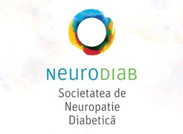 SOCIETATEA DE NEUROPATIE DIABETICA – NEURODIAB, promotoare a informării și educației în privința neuropatiei diabetice, una dintre cele mai frecvente complicații ale diabetului