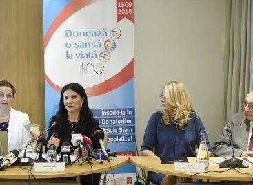 În România s-au făcut 225 de transplanturi de celeule stem de la donatori neînrudiţi conform datelor din Registrul Naţional al Donatorilor