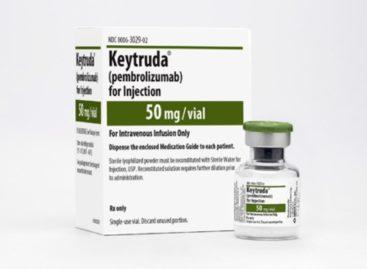 Medicamentul pembrolizumab a obținut rezultate pozitive în tratamentul unei forme de cancer pulmonar într-un studiu clinic de faza a III-a