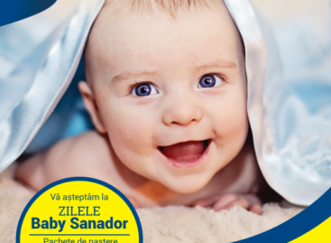 Zilele Baby Sanador – evenimentul lunii februarie pentru viitoarele mămici