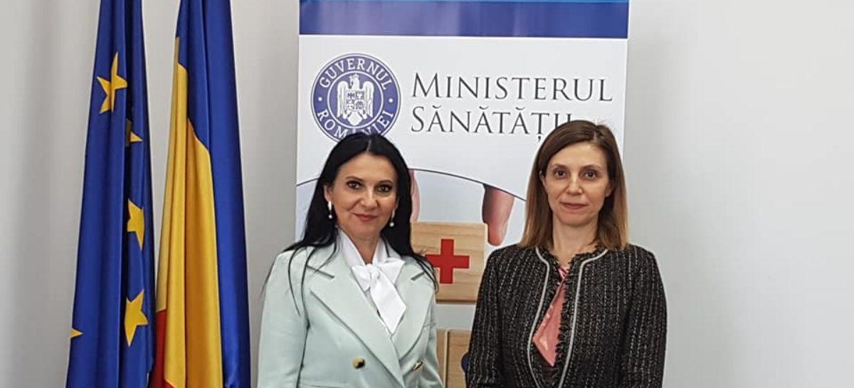 Ministrul Sănătății a discutat cu ambasadorul Turciei la București despre aplicarea acordului de cooperare semnat anul trecut