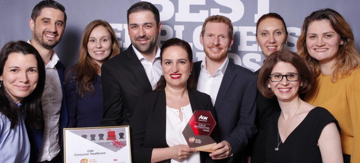 GSK Consumer Healthcare, recunoscut drept unul dintre cei mai buni angajatori din România