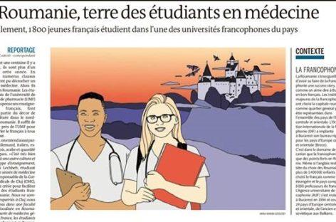 """Le Monde a realizat un reportaj despre francezii care studiază medicina la Cluj: """"Suntem un beneficiu pentru Franța, care nu plătește nimic pentru formarea noastră"""""""