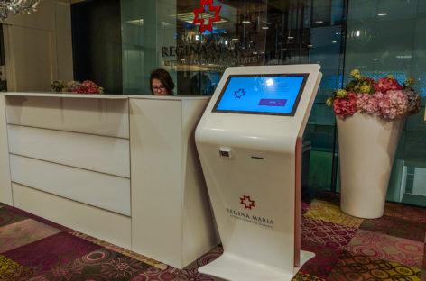 Rețeaua Regina Maria a lansat un serviciu de self-check-in pentru pacienți