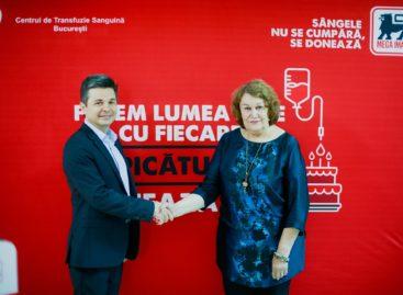 De Ziua Mondială a Donatorului de Sânge, Mega Image continuă să se implice și susține patru centre de transfuzie din țară cu echipamente medicale în valoare totală de 60.000 de euro