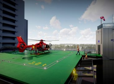 Noul heliport al Spitalului Universitar din Capitală va fi finalizat în august, fiind situat pe Blocul Operator Central