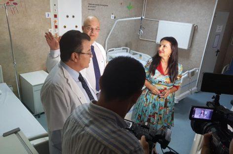 """Secţia de ortopedie pediatrică a Spitalului de Copii """"Grigore Alexandrescu"""" a fost redeschisă după modernizare"""