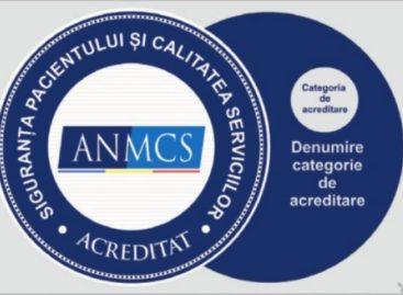 ANMCS schimbă însemnul care trebuie afișat de spitalele în curs de acreditare la două luni după ce l-a introdus