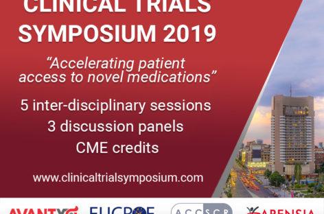 Simpozionul de Studii Clinice 2019 aduce dezbateri și teme de interes pentru cercetarea medicală și pacienții din România