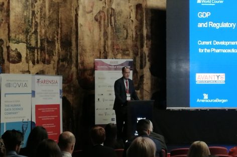 Simpozionul de Studii Clinice 2019 | Michael Fleischer (World Courier): Este nevoie de un control strict al lanțului logistic pentru a menține integritatea produselor farmaceutice și probelor prelevate