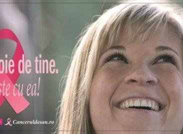 """""""Are nevoie de tine. Vorbește cu EA!"""" Campanie pentru sănătatea sânilor"""