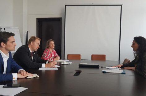 Ministrul Sănătății a discutat cu șefa biroului OMS pentru România despre proiecte comune pentru combaterea tuberculozei si cancerului