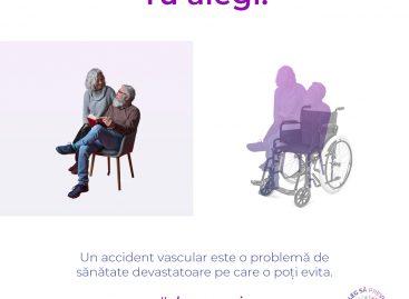 Campanie națională de informare și educare cu privire la conștientizarea accidentului vascular cerebral