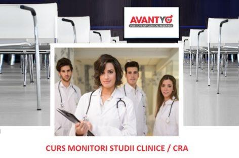 Curs de monitori studii clinice pentru începători, organizat în 27-28 februarie la București
