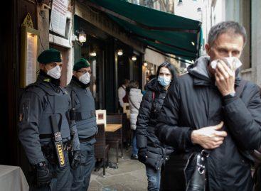 Coronavirus: Italia a ajuns la peste 10.000 de cazuri de infectare și 631 de decese