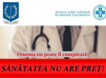 Proiect pentru derularea unor activități preventive anticorupție la Spitalul Clinic Județean de Urgență Cluj-Napoca