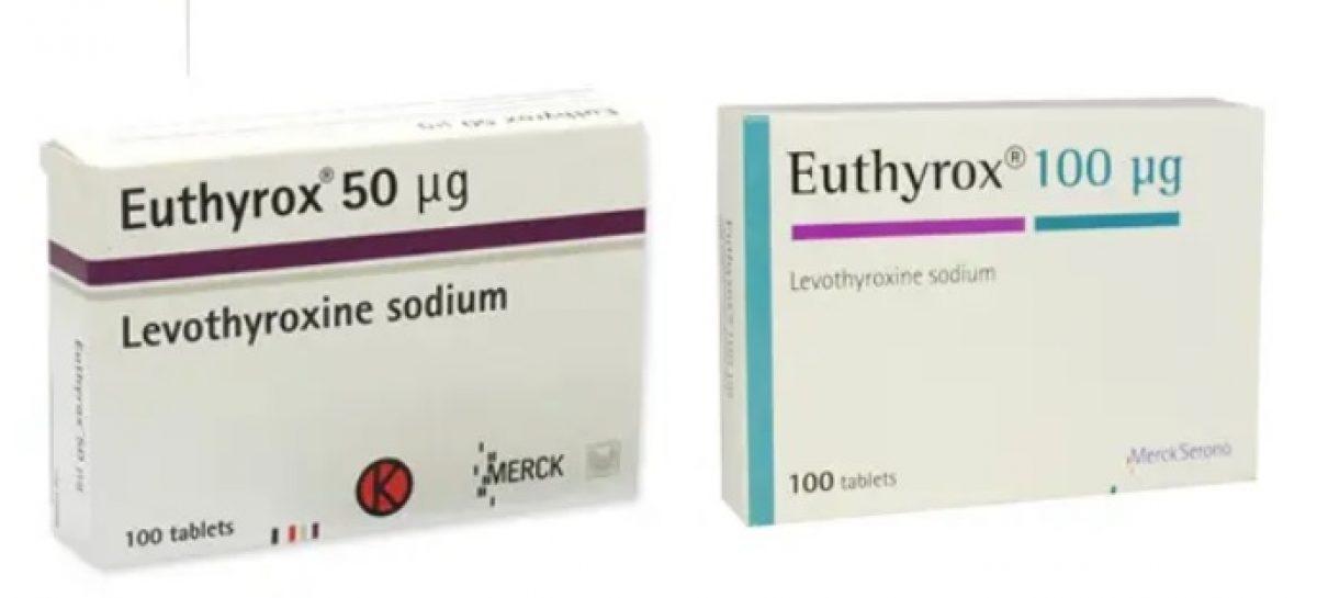 ANMDMR: Astăzi a intrat în depozitul din România o cantitate semnificativă de Euthyrox 100 mg/comprimat