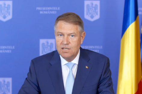 Klaus Iohannis anunță relaxarea graduală a restricțiilor după 15 mai