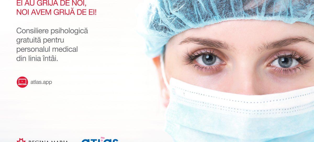 Cadrele medicale implicate în gestionarea cazurilor de Covid-19 primesc consiliere psihologică gratuită