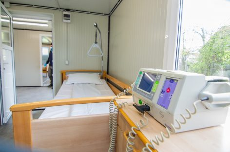 Un nou spital modular pentru tratarea pacienților diagnosticați cu COVID-19