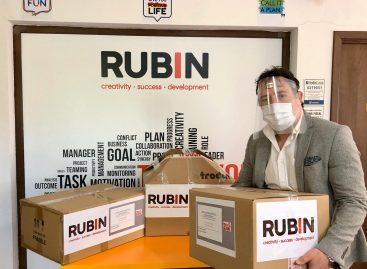 Rubin 2000 se alătură campaniei campania #scutpentruspitale și începe producția a 50.000 viziere pe care le va dona