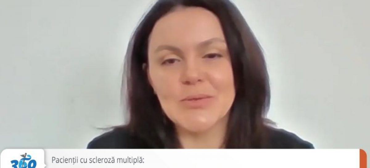 [VIDEO] Cristina Vlădău, vicepreședinte APAN, despre tratamentele la domiciliu în scleroza multiplă: Avem nevoie de soluții mai bune!