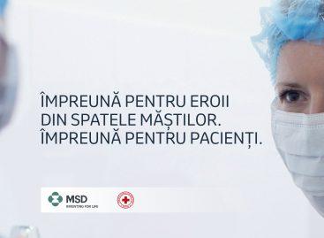 MSD România donează jumătate de milion de lei către Crucea Roșie Română