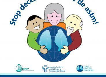 Ziua Mondială a Astmului: Stop deceselor cauzate de astm!