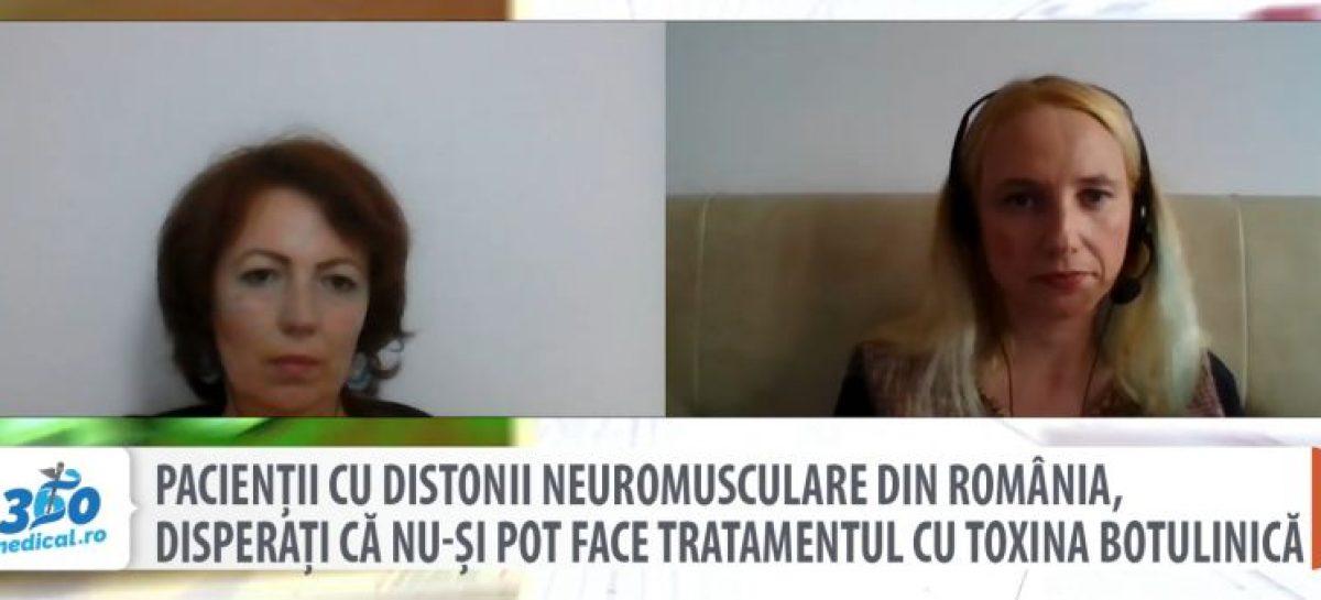[VIDEO] Pacienții cu distonii neuromusculare din România, disperați că nu-și pot face tratamentul cu toxina botulinică