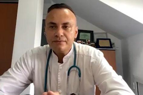 """[VIDEO] Dr. Adrian Marinescu despre tratamentele pentru COVID-19: ,,Varianta pe care noi am ales-o, cea mai bună la momentul acesta"""""""