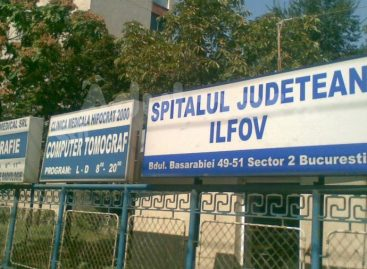 Spitalul Judeţean Ilfov devine spital suport COVID-19
