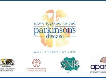 """Ziua Mondială a Creierului 2020: """"Pași către dispariția Bolii Parkinson"""""""