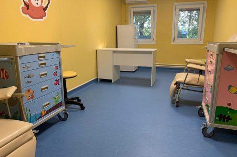 Stadiul primului centru modular pentru copii cu afecțiuni grave care va funcționa în cadrul Institutului Clinic Fundeni
