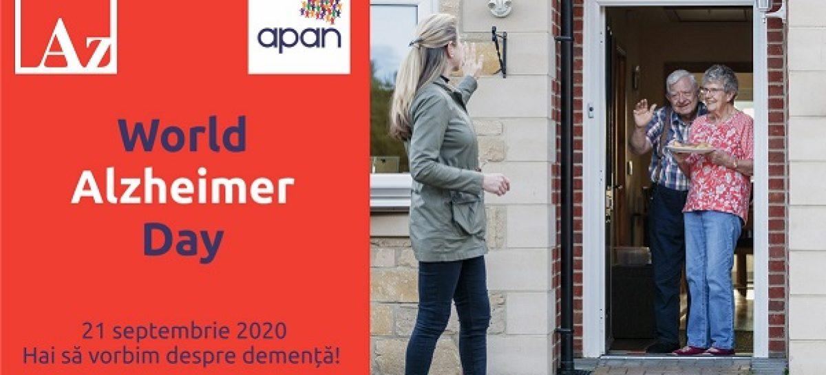 """Ziua Mondială Alzheimer 2020: """"Hai să vorbim despre demență!"""""""