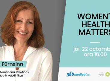 #WOMEN'S HEALTH MATTERS: Sonja Fürnsinn, Director pentru Relații Internaționale în cadrul PremiQaMed Privatkliniken Austria