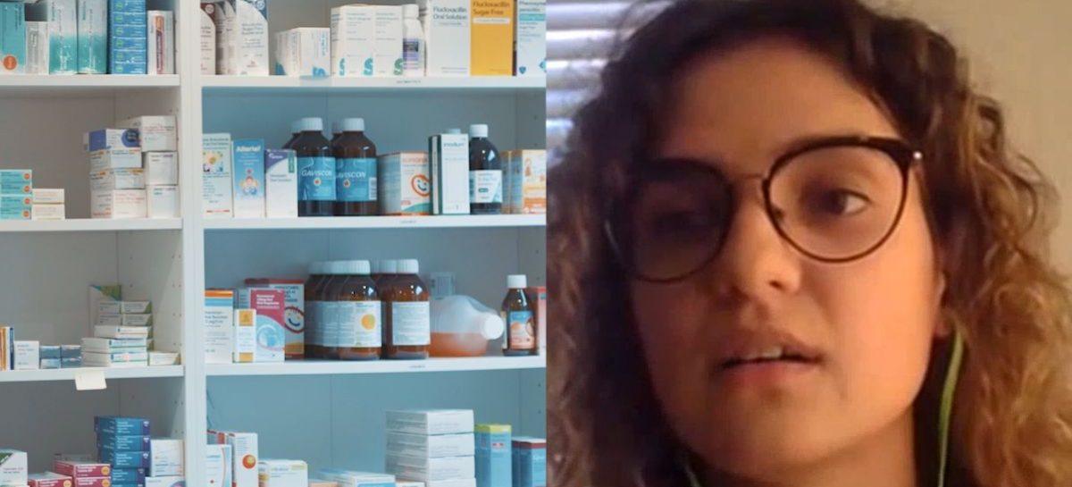 [VIDEO] Bianca Băluță, absolvent de Farmacie: Din păcate, profesia s-a degradat. Farmacistul român este dezamăgit