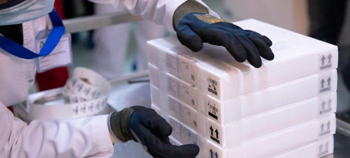 O nouă tranșă redusă de vaccinuri Pfizer/BioNTech ajunge în România