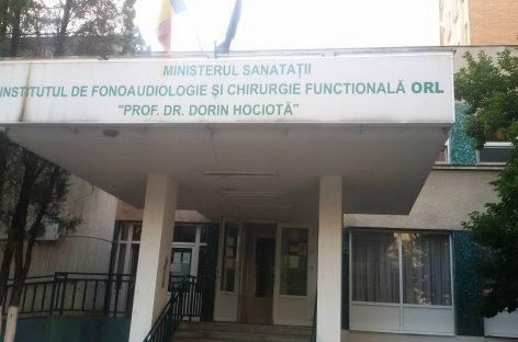 """Nou manager la Institutul """"Prof. Dr. Dorin Hociotă"""" din București"""