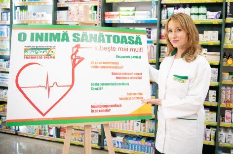 Program de informare şi de prevenire a afecţiunilor cardiovasculare, lansat de o rețea de farmacii din România