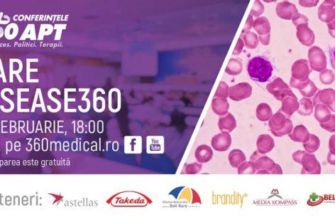 """,,Rare Disease360"""", dezbatere despre problemele frecvente din bolile rare în România"""
