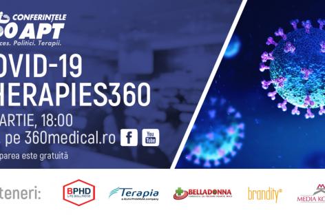 COVID-19 THERAPIES 360 – radiografie la nivel național privind tratamentele împotriva infecției cu SARS-CoV-2