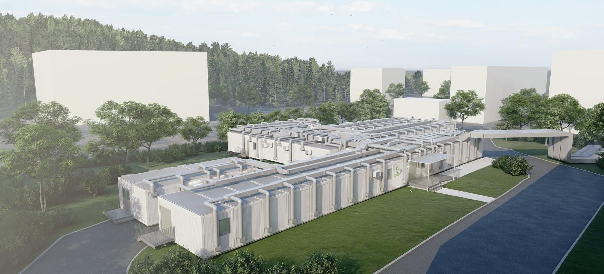 Peste 23.000 mp de spitale temporare – primele 7 spitale modulare din România – au fost realizate până în prezent de Tesseract Architecture