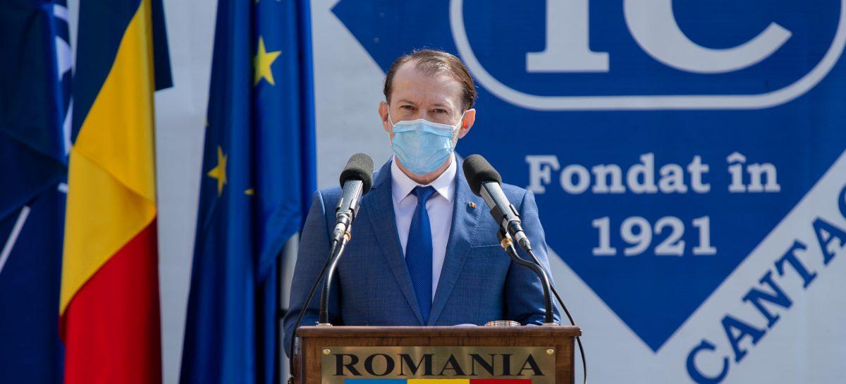Florin Cîțu: Cel puțin 5 milioane de persoane vor fi vaccinate anti-Covid-19 până la finalul lunii mai; putem ajunge la 10 milione de persoane imunizate în iulie