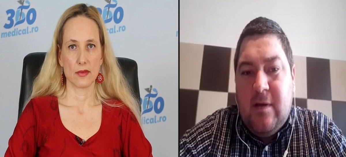 """[VIDEO] Alexandru Tcaciuc: ,,Viața unui pacient cu Fabry este ca o sinusoidă"""""""