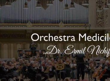 """Concert la Ateneul Român al Orchestrei Medicilor """"Dr. Ermil Nichifor"""", în semn de apreciere pentru cadrele medicale"""