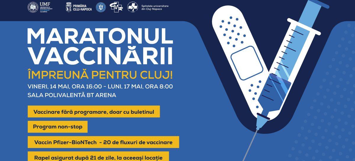 """Vineri, 14 mai, UMF """"Iuliu Hațieganu"""" va da startul maratonului vaccinării de la Cluj-Napoca"""