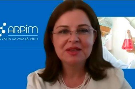 """[VIDEO] Alina Culcea, președinte ARPIM: ,,Câteva măsuri rapide pot avea efecte substanțiale privind grăbirea accesului la medicamente"""""""
