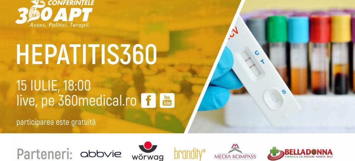 """Dezbaterea ,,Hepatitis 360"""": Acces la tratamente imediat, eradicarea hepatitelor în viitor"""